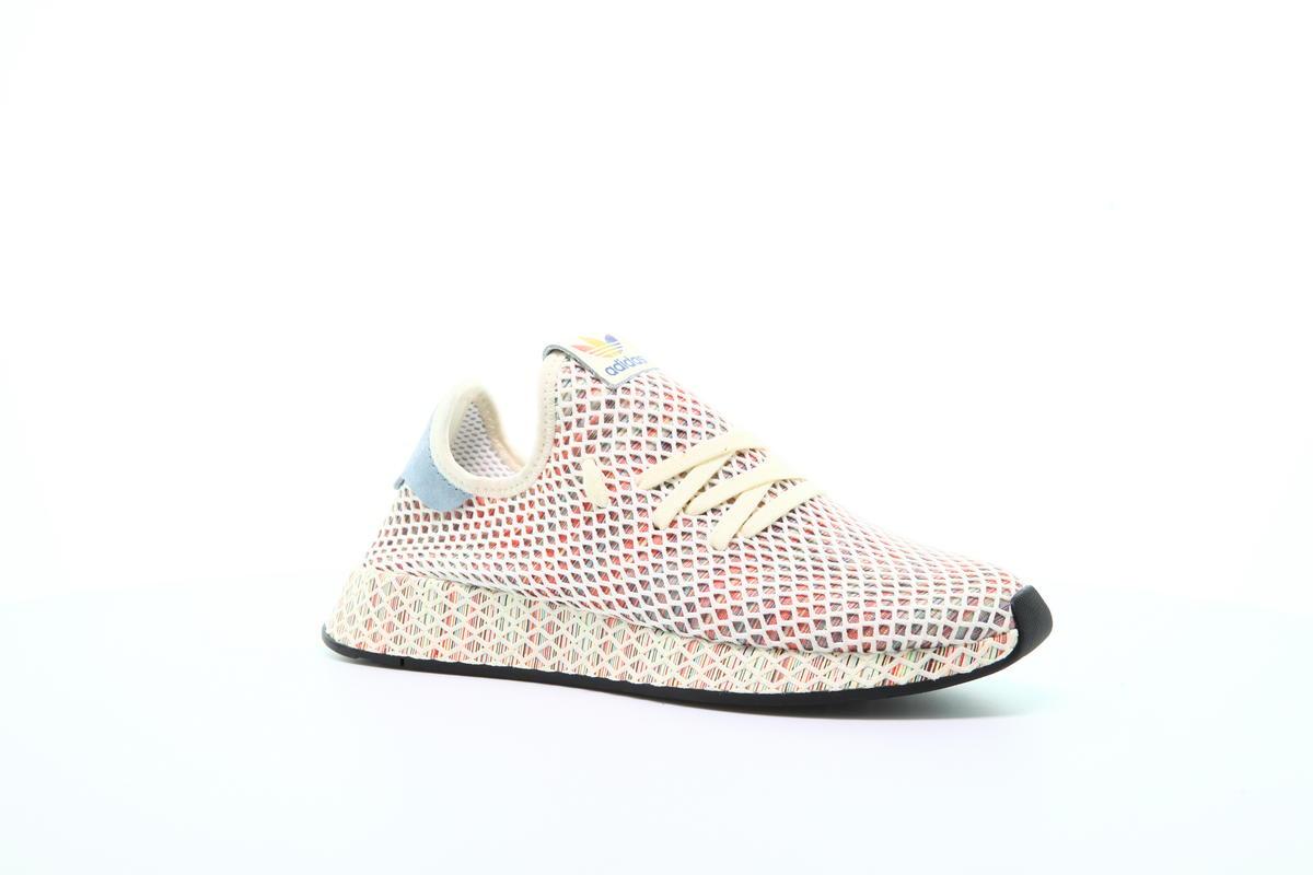 adidas Originals Schuhe Deerupt Pride Cream WhiteCore Bla