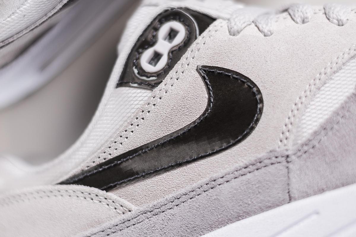 2015 Nike Women's Air Max 1 Premium Shoes Canada White gran