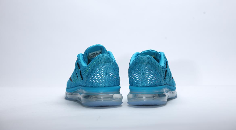 billig NIKE AIR MAX 2016 Blue Lagoon Black Mens Shoes 806771