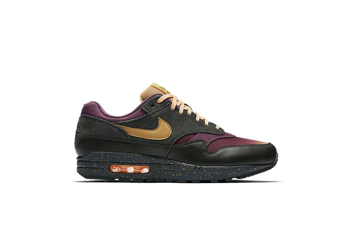 Details about Nike Air Max 1 Premium CHOOSE SIZE 875844 010 Dark Grey Anthracite Suede Retro