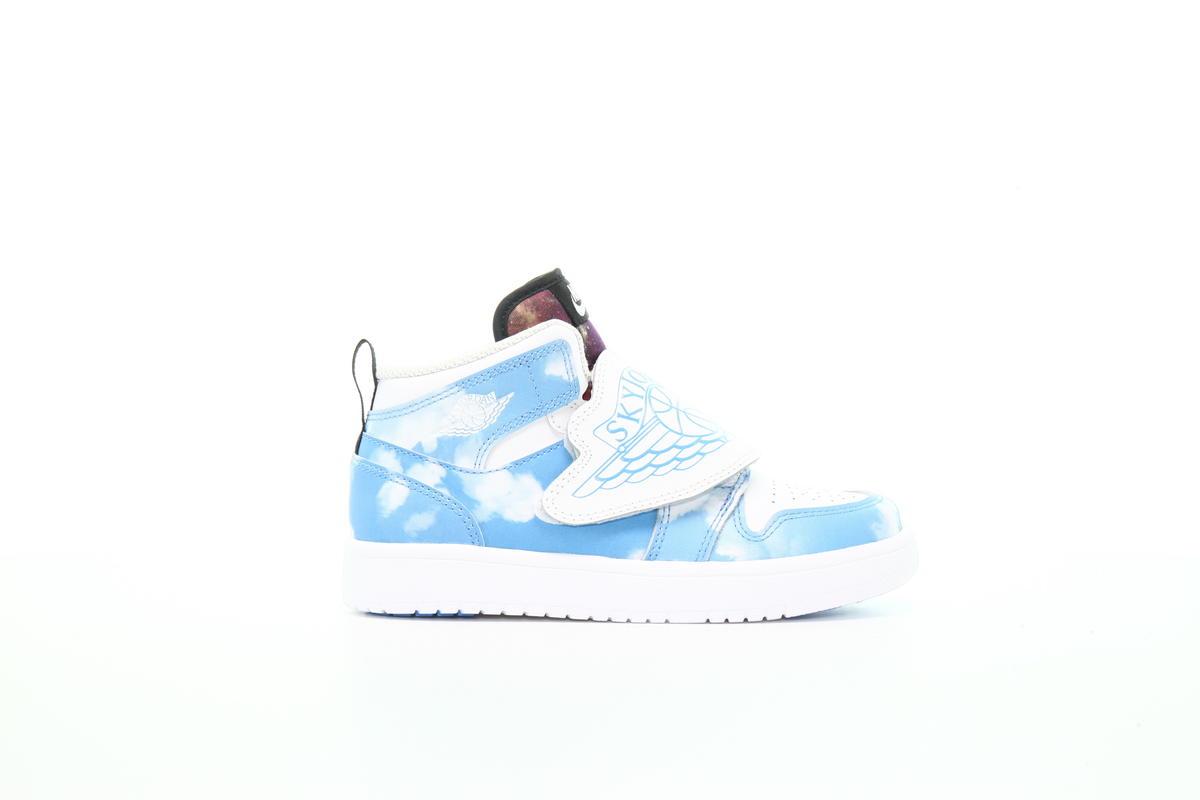 Air Jordan Sky Jordan 1 Fearless Ps University Blue Ct2477 400