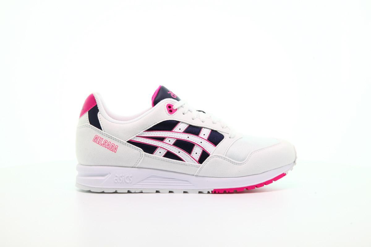 ASICS SportStyle GELSAGA shoes white blue pink