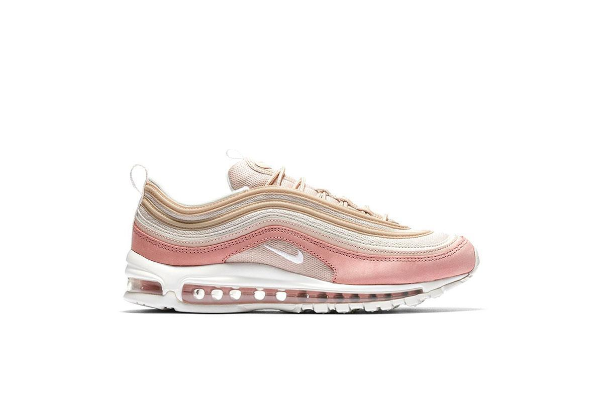 NIKE AIR MAX 97 PREIMIUM Gr 49,5 PARTICLE BEIGESUMMIT WHITE