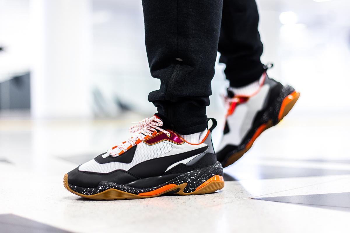 puma thunder electric red