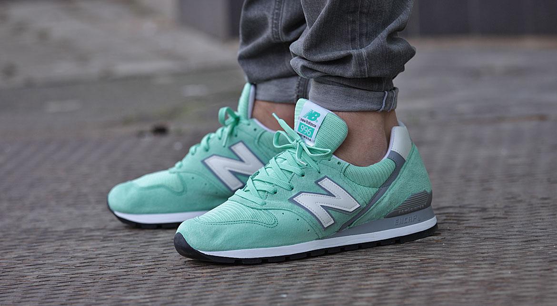 new balance 996 vert menthe