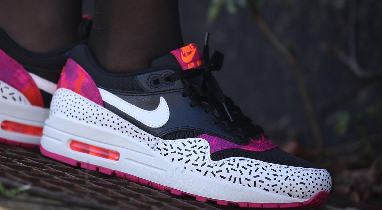 Nike Wmns Air Max 1 Print Pink Pow | 528898 002 | AFEW STORE