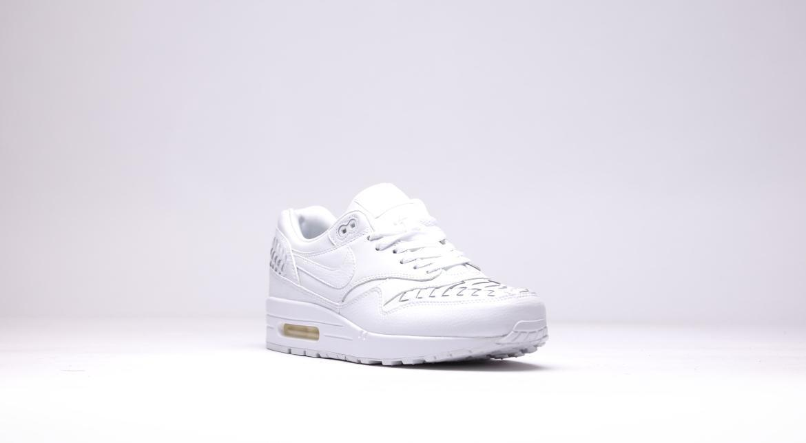 Nike Air Max 1 Woven Triple White | 725232 100 | AFEW STORE