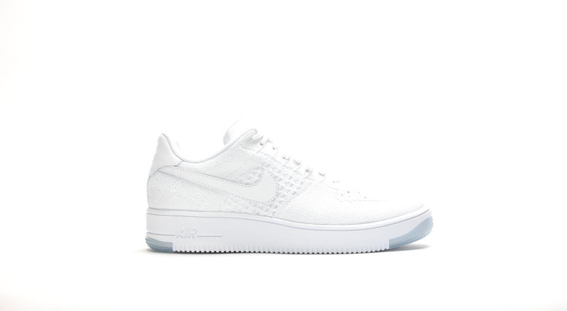 Nike Air Force 1 Ultra Flyknit Low White Out White Ice 817419 100
