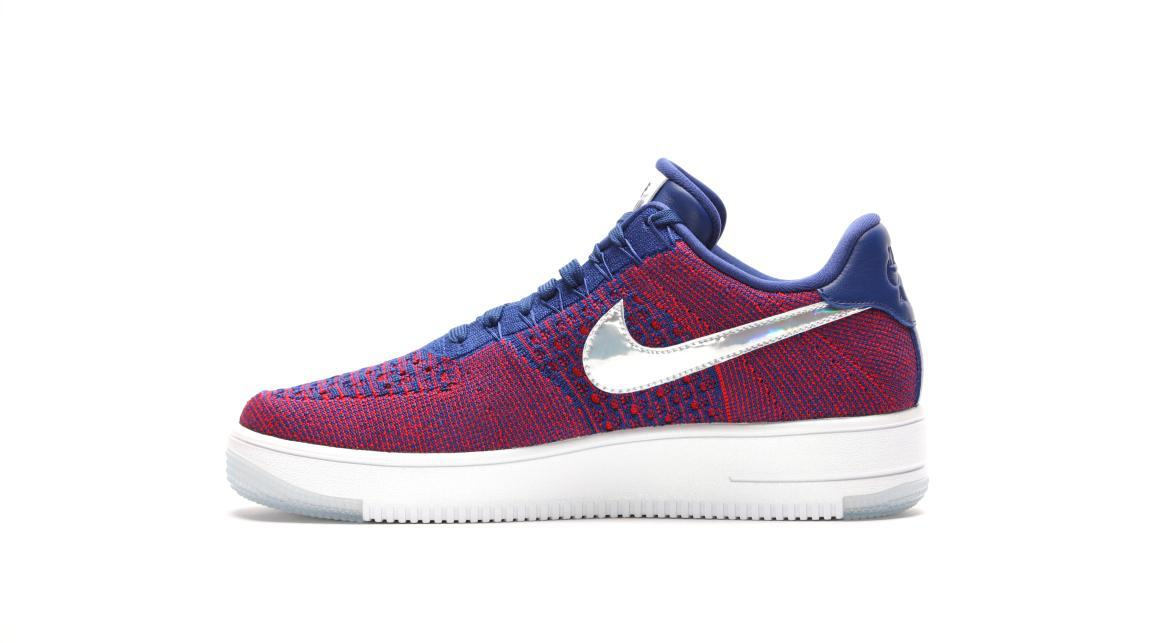 Nike Air Force 1 Ultra Flyknit Low Premium Gym Red Deep