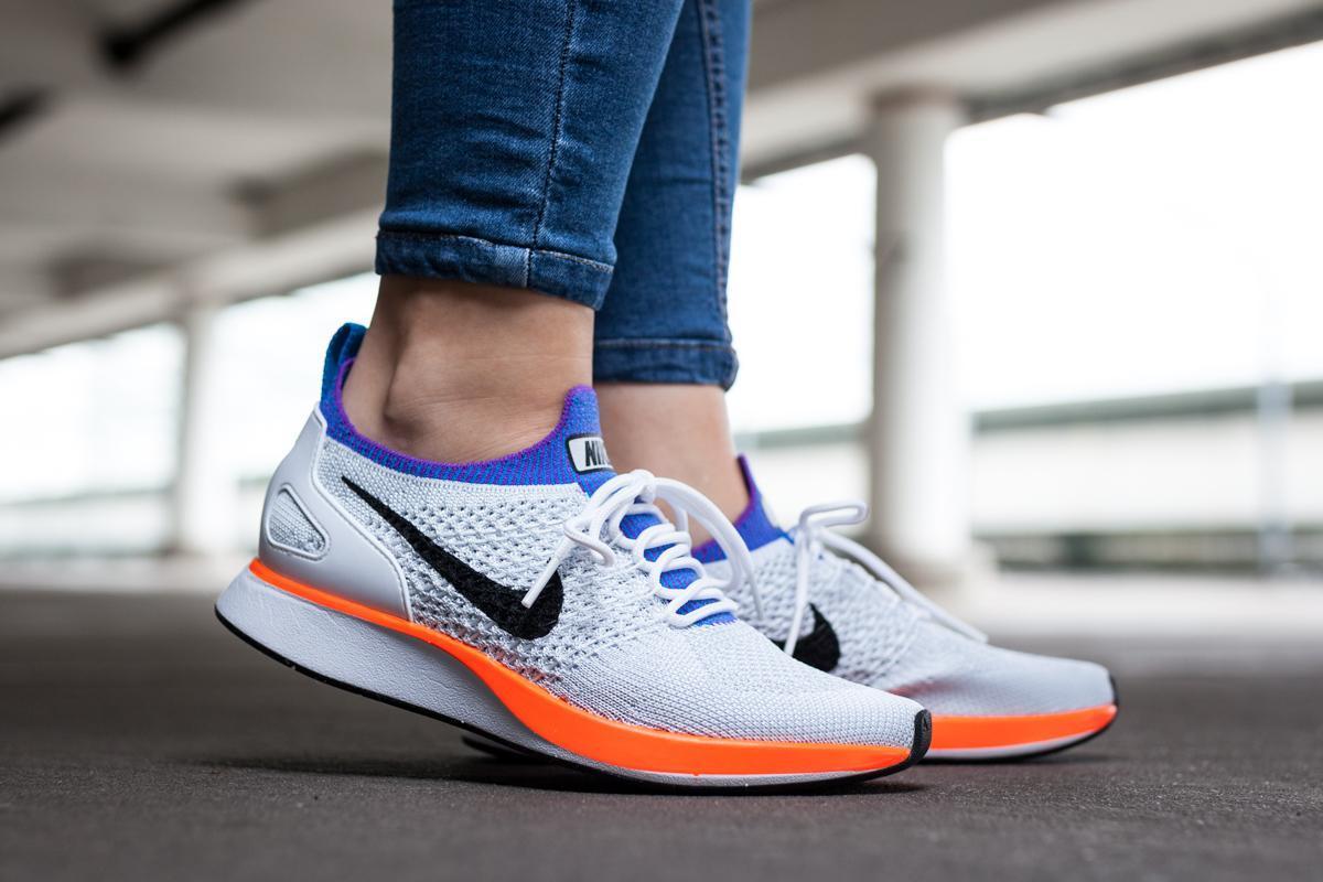 Get The Nike Air Zoom Mariah Flyknit Racer Hyper Crimson