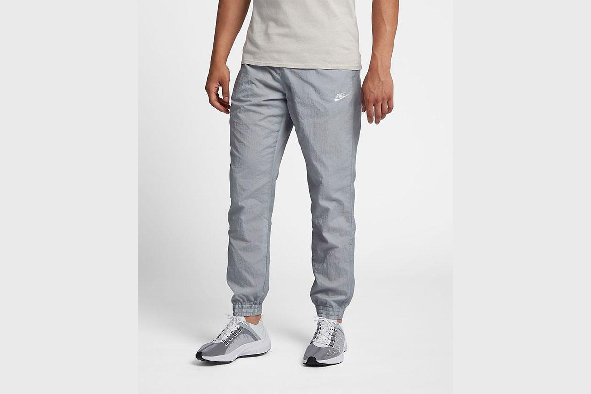 Nike Nsw Swoosh Woven Pant Quot Wolf Grey Quot Aj2300 012 Afew