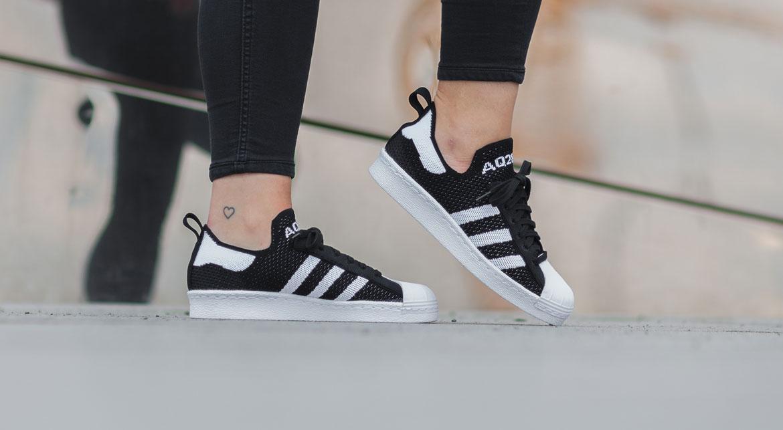 adidas sneakers Superstar 80's Primeknit ladies white