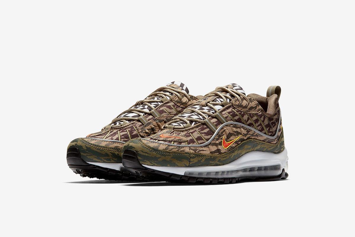 Nike Air Max 98 *Tiger Camo* AOP | EU 40 – 47.5 | 189