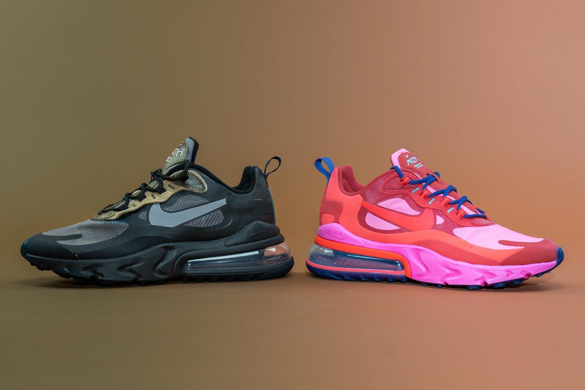 Nike Wmns Air Max 270 React Mystic Red At6174 600 Afew Store
