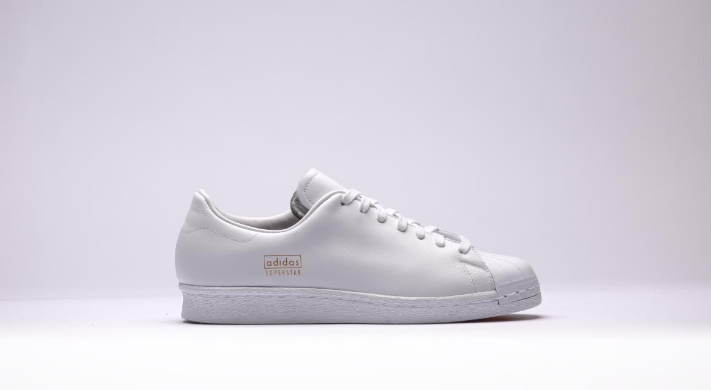 adidas Originals Footwear Superstar 80's Clean Trainers White Metallic Gold