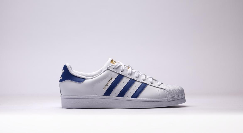 adidas superstar weiß royal blau