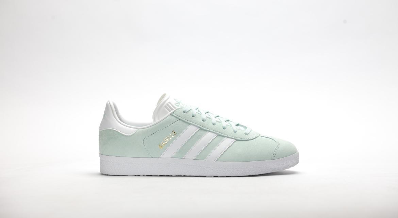 Adidas 'Gazelle' Ice Mint Suede Sneakers