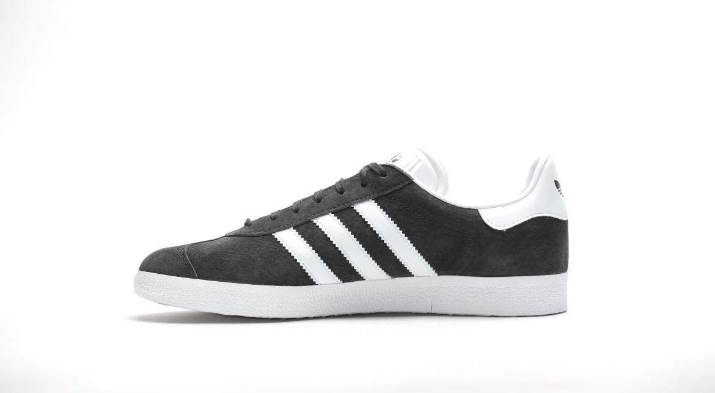 Adidas Originals Gazelle BB5480 Retro Suede Mens Solid Gray White Shoes Sizes