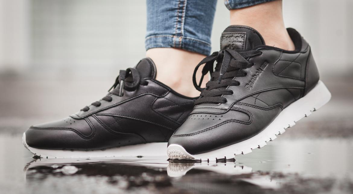 Reebok Classic Leather Pearlized in schwarz BD5210 | everysize