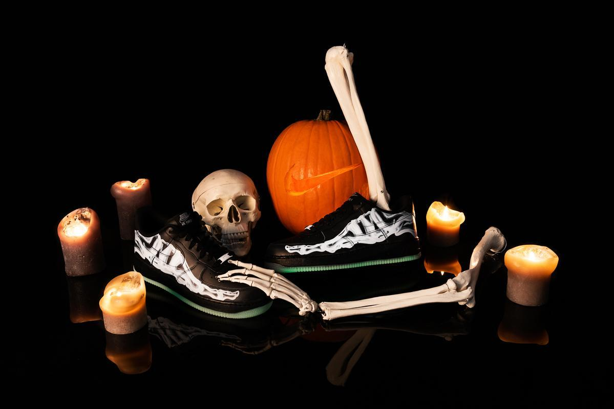 Nike AIR Force '07 Skeleton QS 'Halloween' BQ7541 100