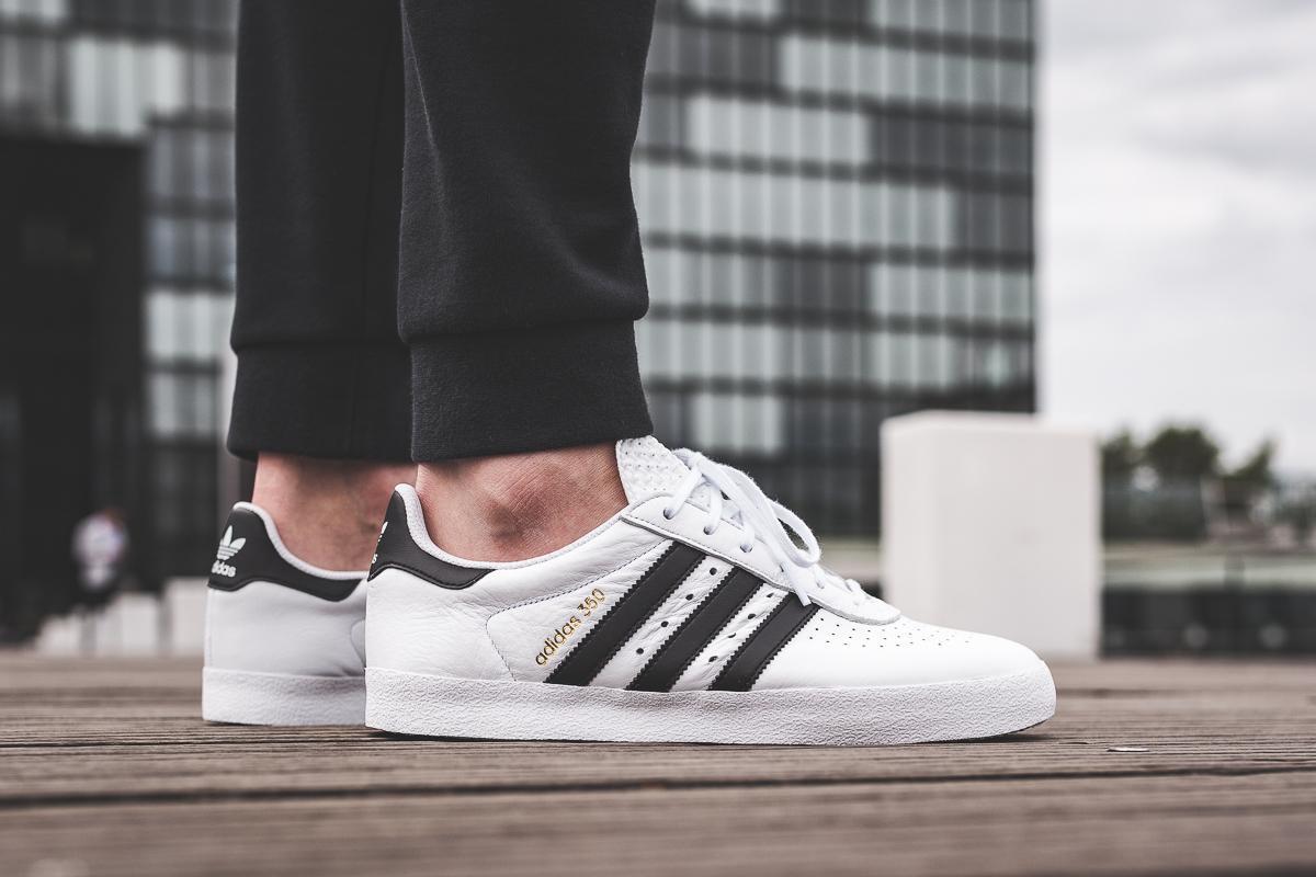adidas 350 Core Black White | SneakerFiles