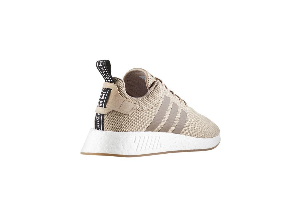 Adidas NMD R2 BeigeTrace KhakiSimple BrownCore Black BY9916