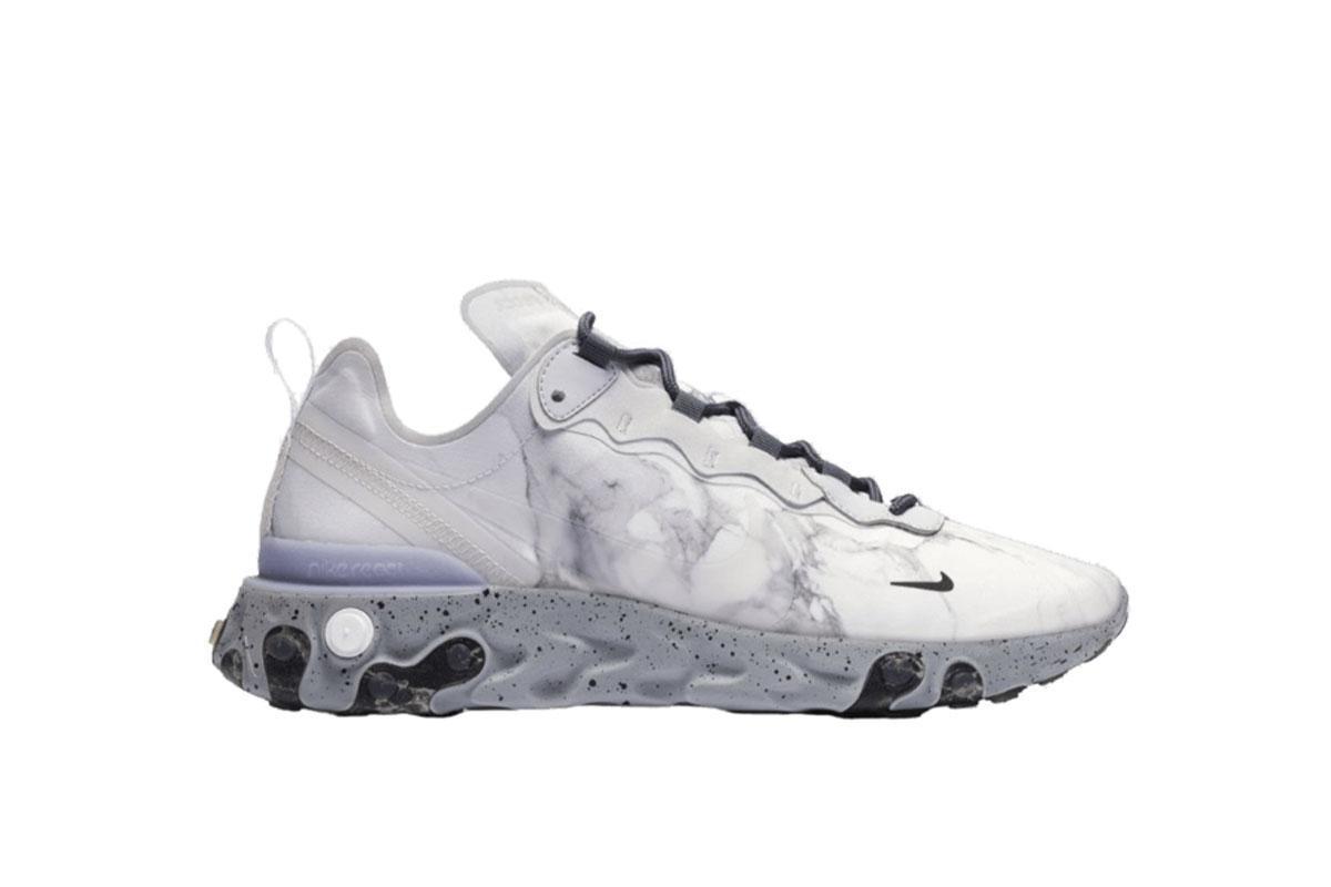 Kendrick Lamar x Nike React Element 55 'Pure PlatinumClear