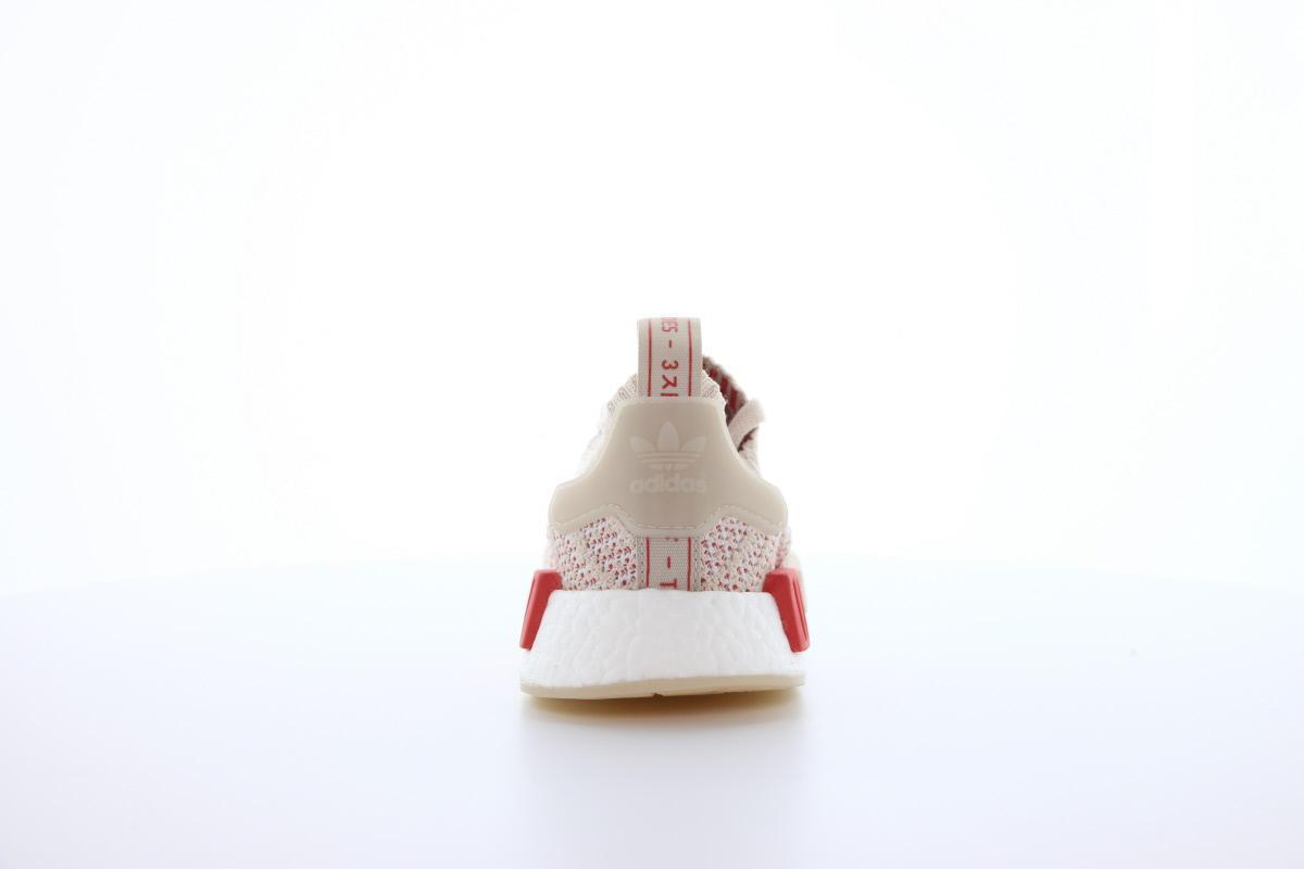 adidas NMD Racer Primeknit W Footwear WhiteTrace Scarlet CQ2033