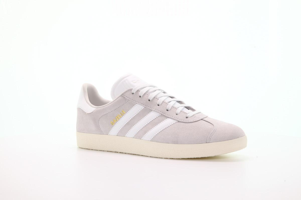 adidas Men Gazelle (WhiteCrystal WhiteCream White)