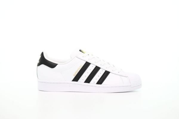 adidas Originals superstar sneakers in triple white