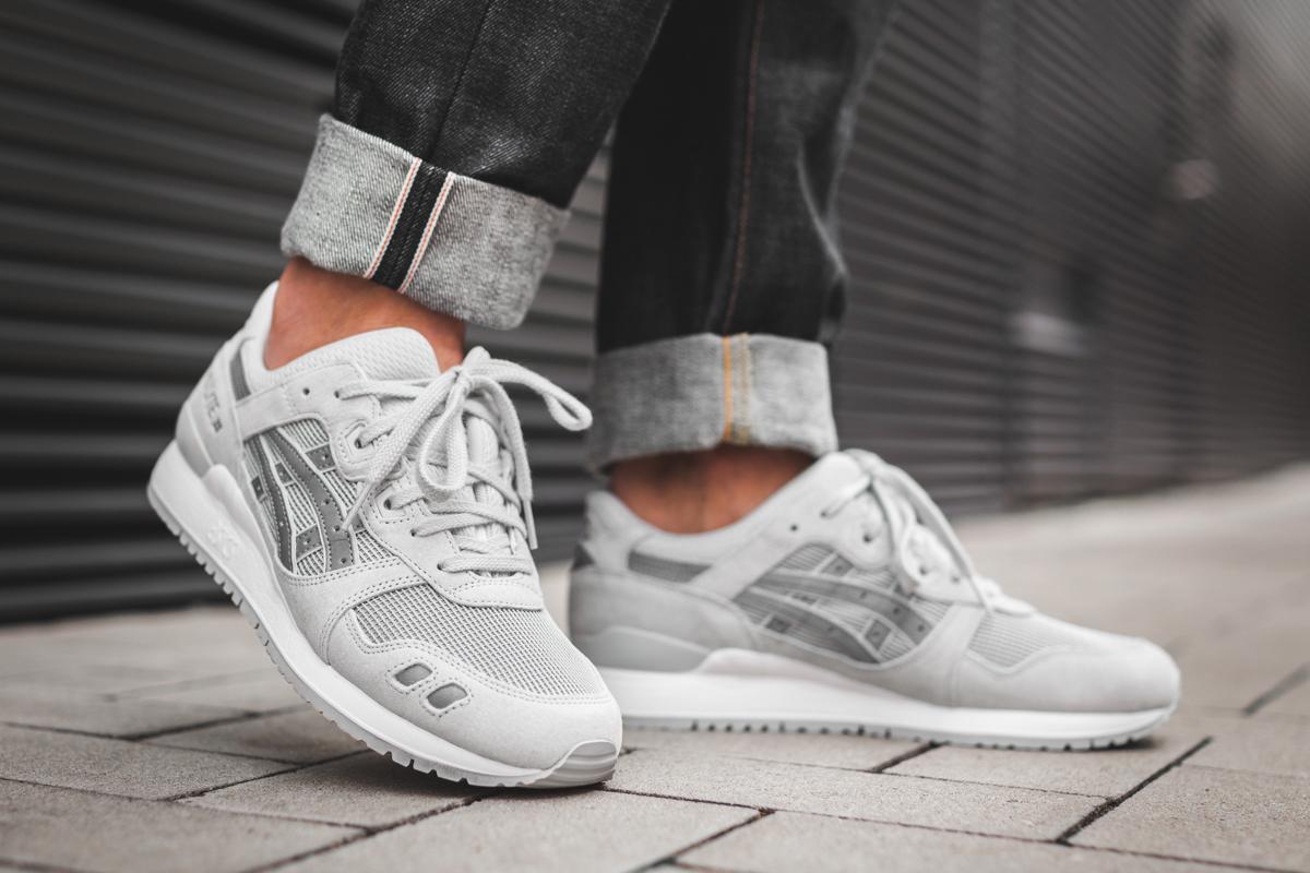 Asics Gel Lyte III Glacier Grey Release Date | SneakerFiles