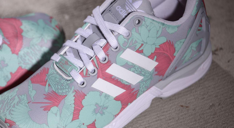 adidas Originals ZX FLUX Sneaker clear onixwhitevista
