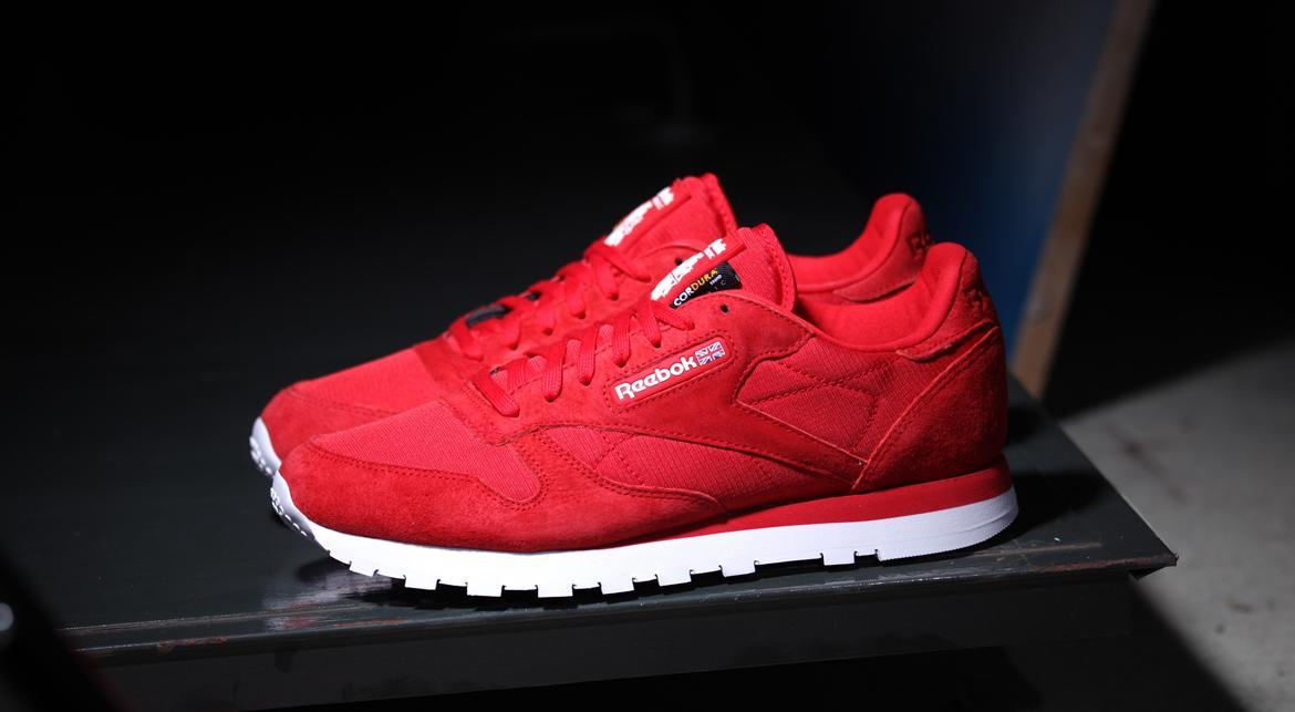 Reebok CLASSIC LEATHER CORDURA RED RUSH | M46741 | AFEW STORE