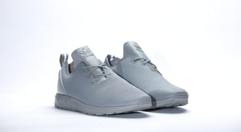 adidas zx flux adv asym gris et blanc