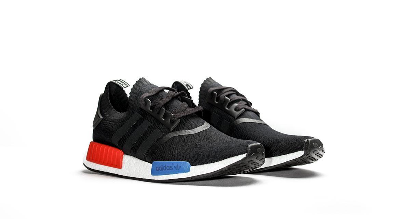 Adidas NMD R1 PK Primeknit OG Black Red White Blue Ultra