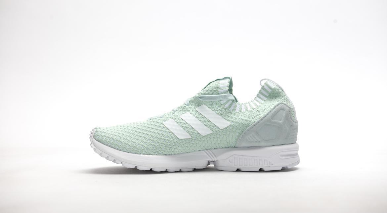 adidas ZX Flux Primeknit W Vapor Green White Vapor Green