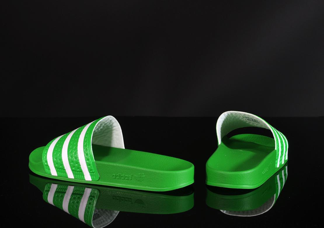 Adidas Flip Flops Originals White Green And Womens India