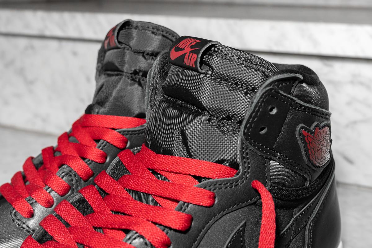 Air Jordan 1 Retro High Og Black Satin 555088 060 Afew Store