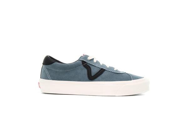 Vans UA OG Style 36 LX Suede Canvas in blau VN0A4BVEVZ51