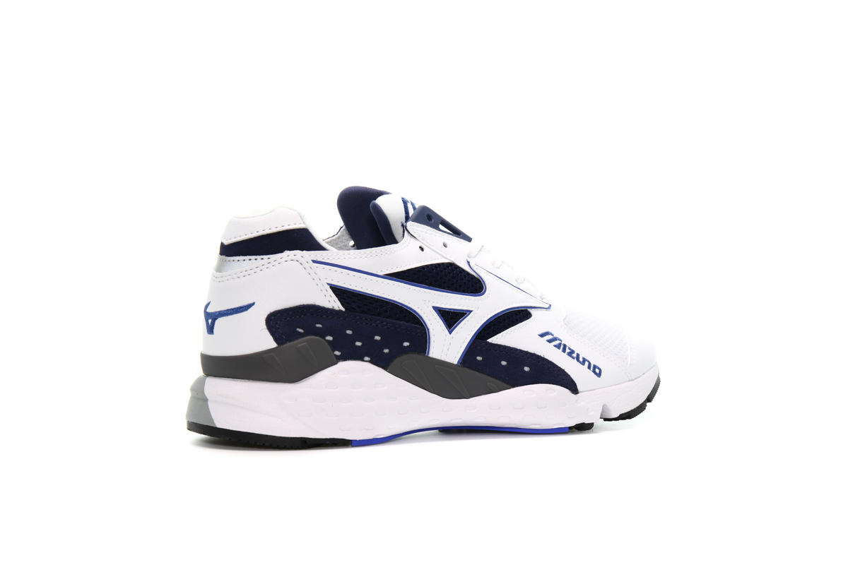 Peacoat Sneaker Sportschuhe Mondo Control White White Mizuno