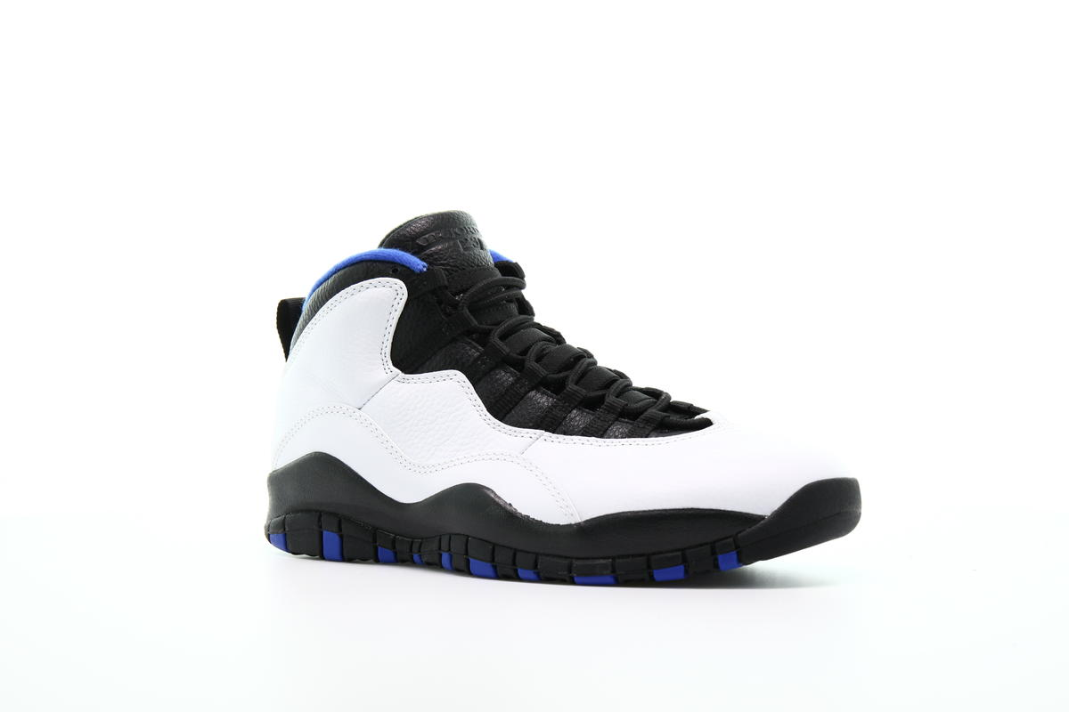 Air Jordan 10 Retro White Black Royal Blue 310805 108 Mens 11