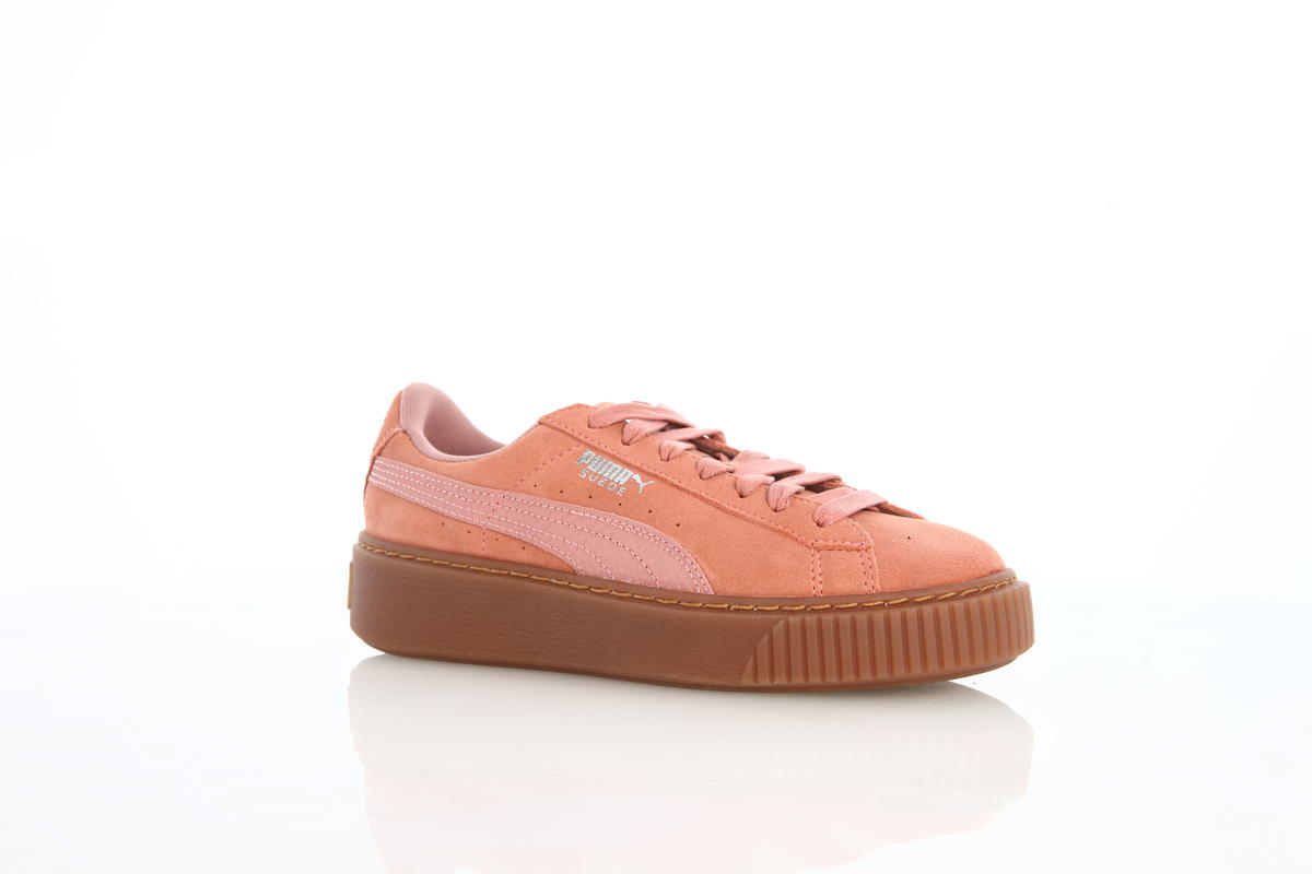 Puma Suede Platform Animal Womens Cameo Brown | 365109 02