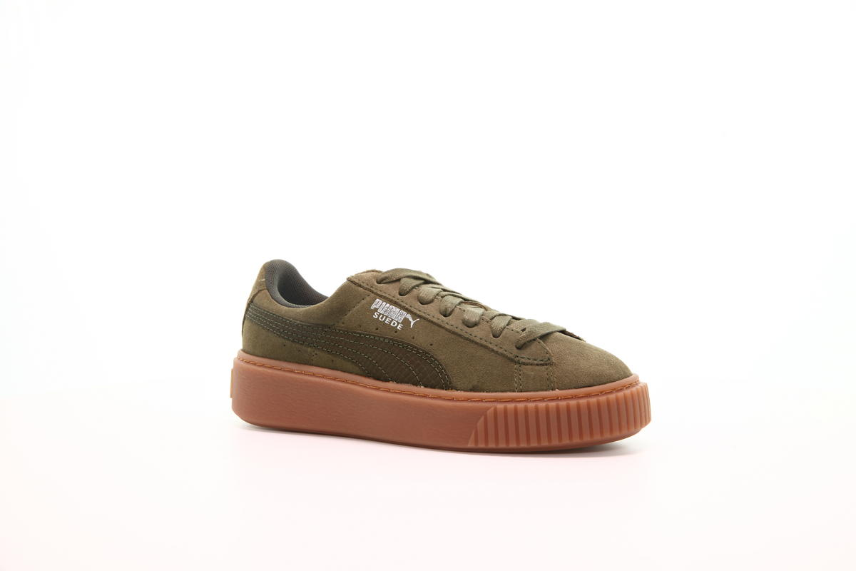 Puma Suede Platform Animal Womens