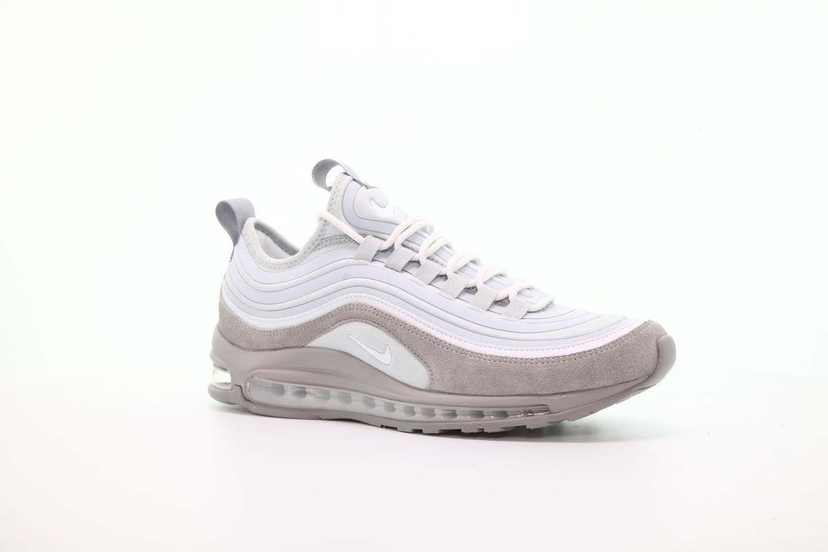 Men's Size Nike Air Max 97 Ultra SE Pure Platinum White Wolf