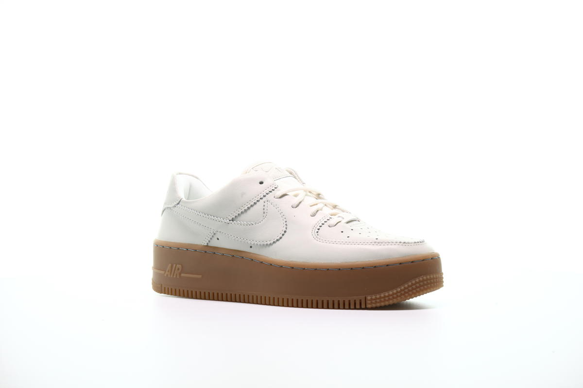 Nike W Air Force 1 Sage Low Lx Pale Ivory Pale Ivory Gum