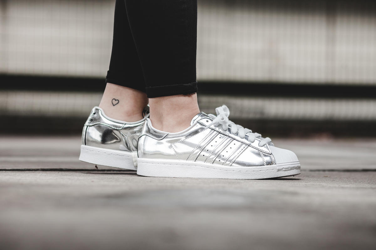 adidas superstar boost silver