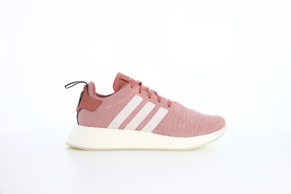 CQ2007 Adidas Originals NMD R2 Women Shoes Ash PinkWhite