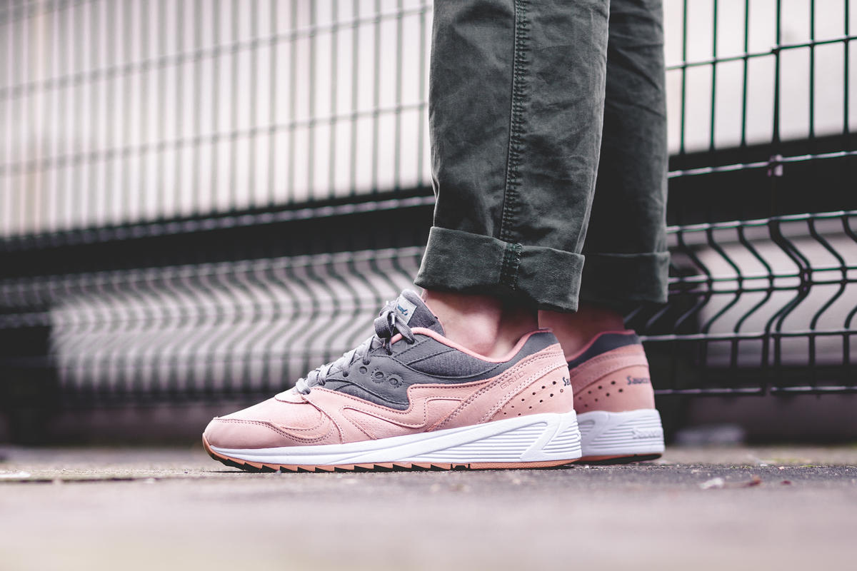 Saucony Grid 8000 Salmon | S70303 3 | AFEW STORE