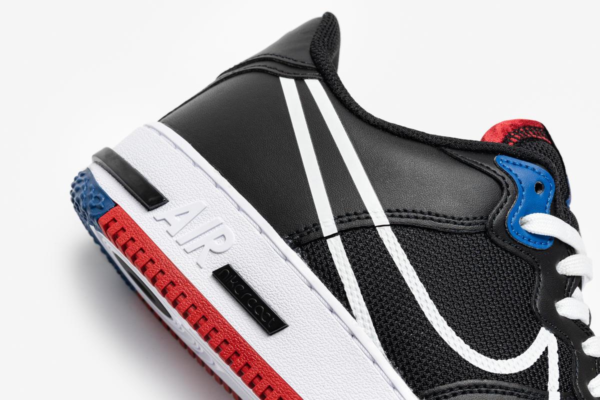 Nike Air Force 1 React Black Ct1020 001 Afew Store