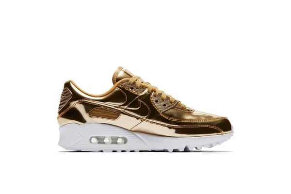 Sneaker Nike Nike WMNS AIR MAX 90 MEDAL PACK #quot#GOLD#quot#